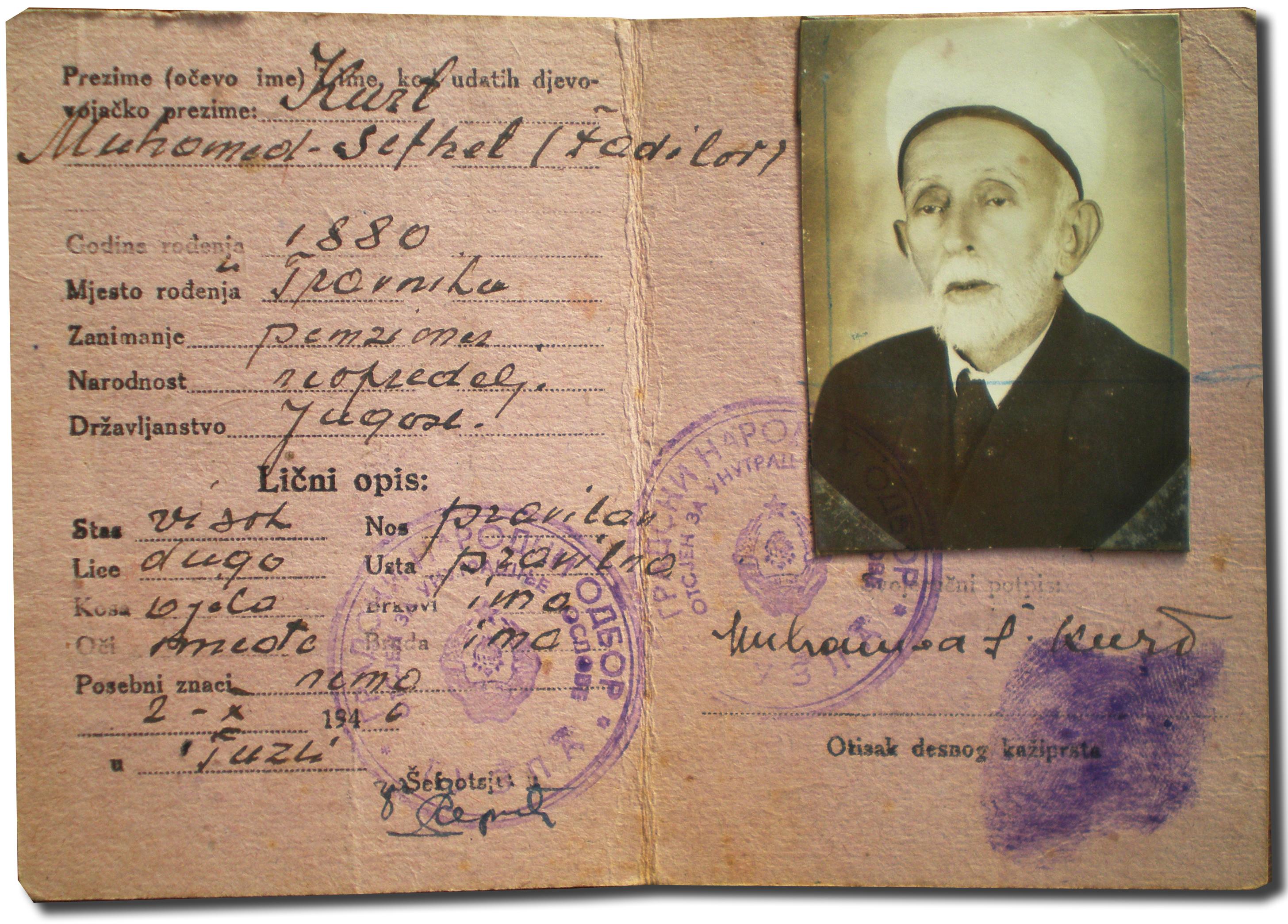 Neopredijeljeni muftija Kurt – Porodica Kurt iz Mostara