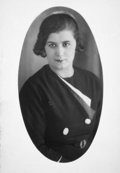 10. januar 1935. Zarifa Kurt (1910-1982)