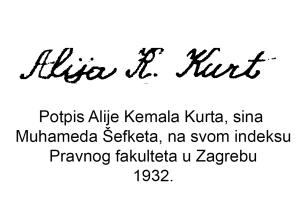 potpisAlija-Kemal-Kurt