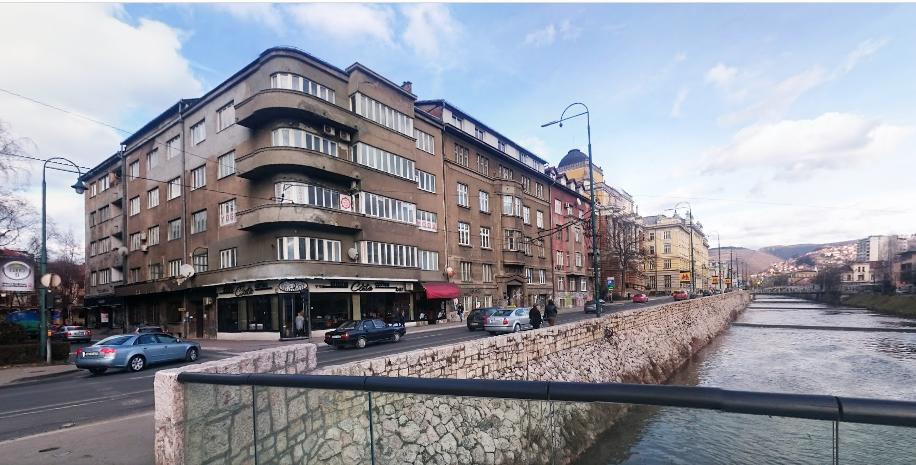 Zgrada u Radićevoj ulici broj 2 u Sarajevu