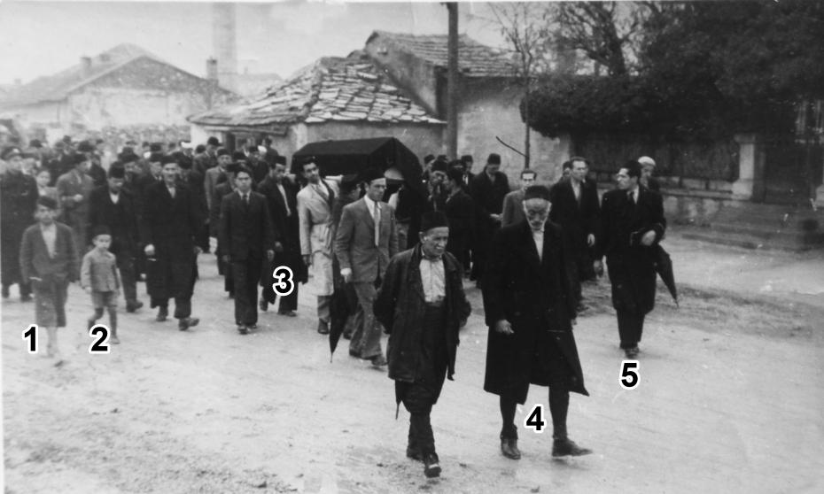 Sahrana Muhameda Kurta 18. januar 1940.