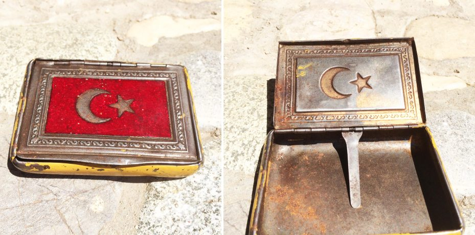Tabakera iz Turske 1915.